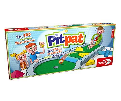 Noris 606064190 Pitpat, Das verrückte Tisch-Minigolf für zu...