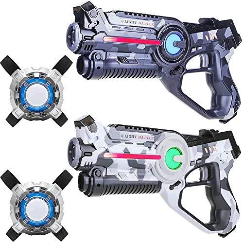 Light Battle Active Lasertag für zuhause - 2X laserpistole (camo...