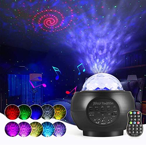 LED Sternenhimmel Projektor Lampe Nachtlicht Galaxy Projektor,...
