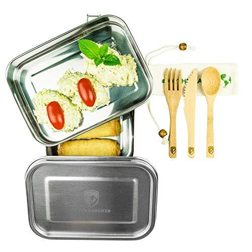 Alpin Loacker 2 Layer Edelstahl Lunchbox 3 teilig mit...