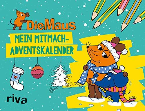 Die Maus – Mein Mitmach-Adventskalender: 24 Überraschungen zum...