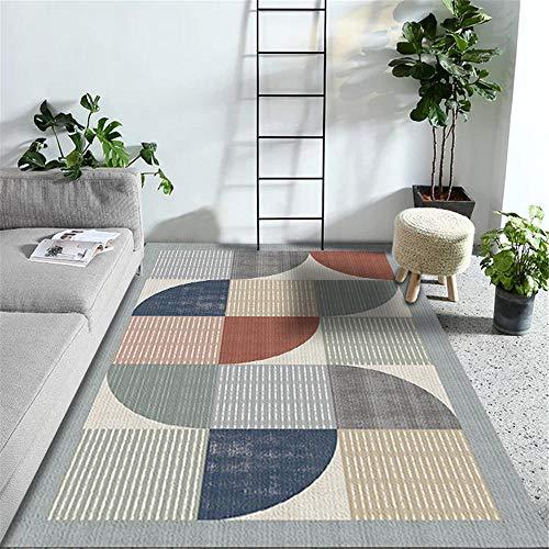 WJTHH Großer Moderner Teppich,Antifouling,Teppich für...