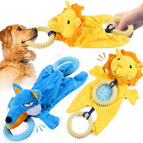 Sammiu 2 Pack Spielzeug für Hunde, Interaktives Hundespielzeug...