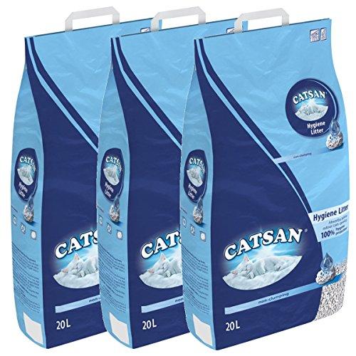 Catsan Hygiene nicht klumpendes Katzenstreu, 3 Packungen (3 x...