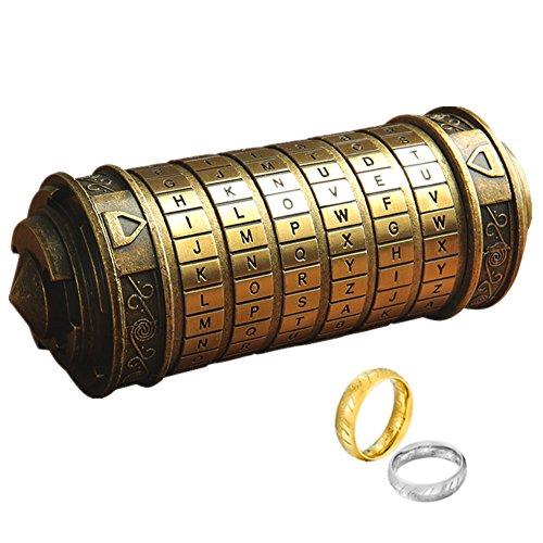 LINCMAN Da Vinci Code Mini Cryptex Rätsel und Puzzle für...