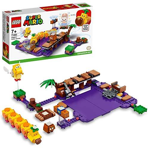 LEGO 71383 Super Mario Wigglers Giftsumpf–Erweiterungsset, modulares Spielset zum...
