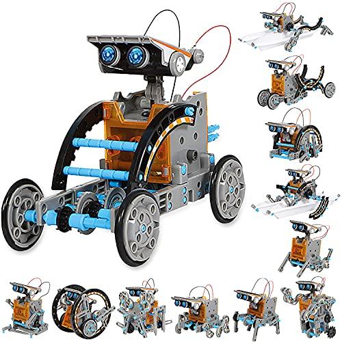 Sillbird Solar Roboter Kinder Spielzeug ab 8 Jahre, 12-in-1 STEM...