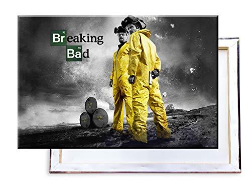 Unified Distribution Breaking Bad - 100x70 cm Kunstdruck auf...