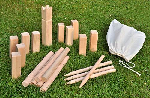 Wikinger Schach Wurfspiel - Holz Garten Spielzeug...