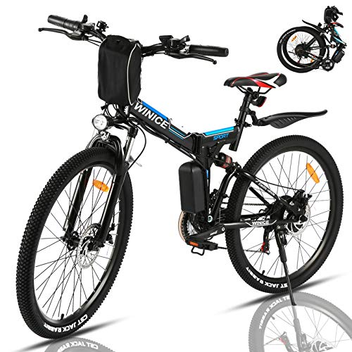 VIVI 350W Elektrofahrrad Herren 26 Zoll Faltbares E Bike...