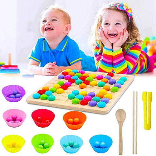 Holz Clip Beads Brettspiel Aktualisierung,Early Education Puzzle...
