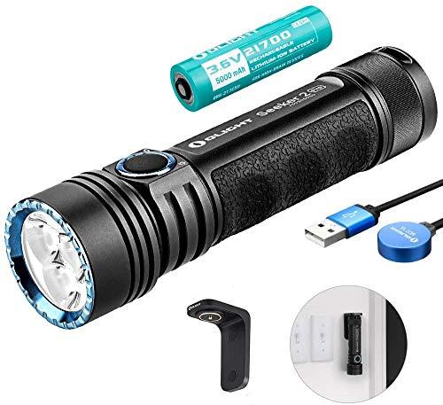 OLIGHT Seeker 2 PRO Wiederaufladbare Taschenlampe 3200 Lumen,...