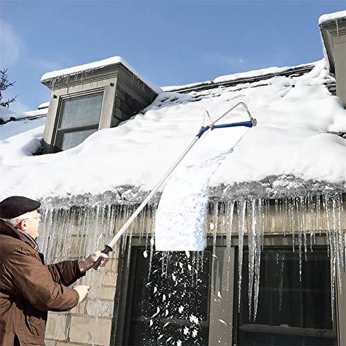 Dach Schnee Rake Removal Tool Schneeschaufel, Ausziehbares...