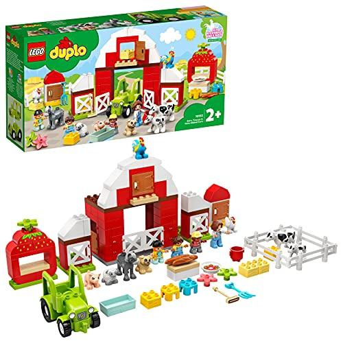 LEGO 10952 DUPLO Scheune, Traktor und Tierpflege Kleinkinder...