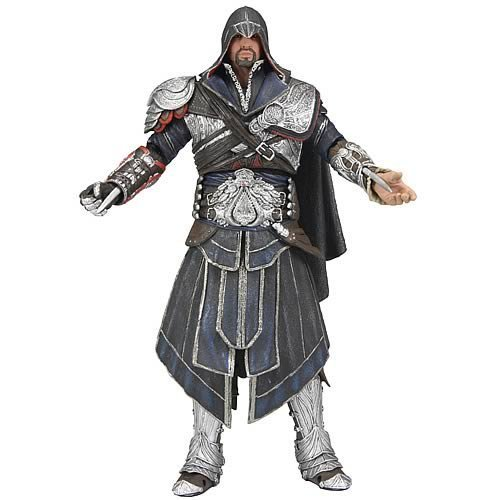 Assassin's Creed Brotherhood Ezio 7' Action Figure (Onyx Costume...