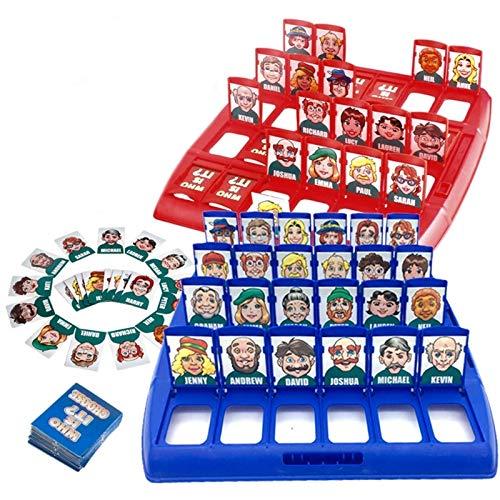 Wer ist es Brettspiel Funny Family Erraten Spiele für Kinder...