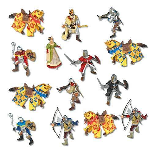 Wiemann Lehrmittel Ritterfiguren für Kinder, Spielfiguren für...