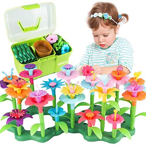 CENOVE Blumengarten Spielzeug für 3-6 Jährige Mädchen, DIY...