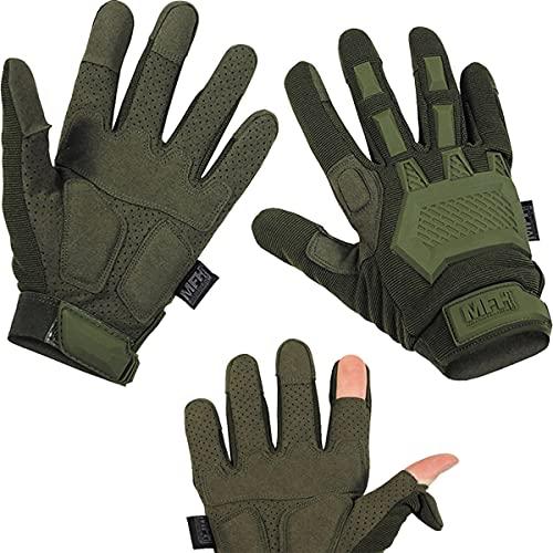 MFH 15843 Tactical Handschuhe Action (Oliv/L)