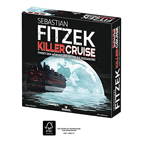 moses. 90358 Sebastian Fitzek Killercruise | Der Nachfolger vom...
