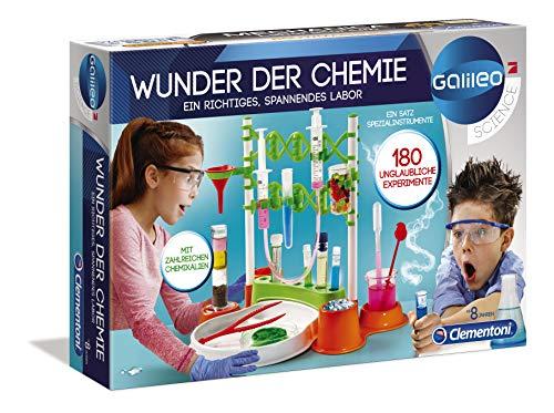 Clementoni 59187 Galileo Science – Wunder der Chemie, 180...