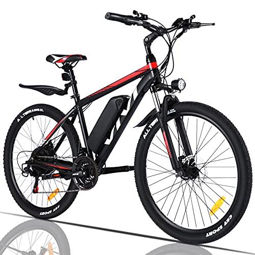 VIVI Elektrofahrrad Herren 26' Mountainbike mit Herausnehmbarer...