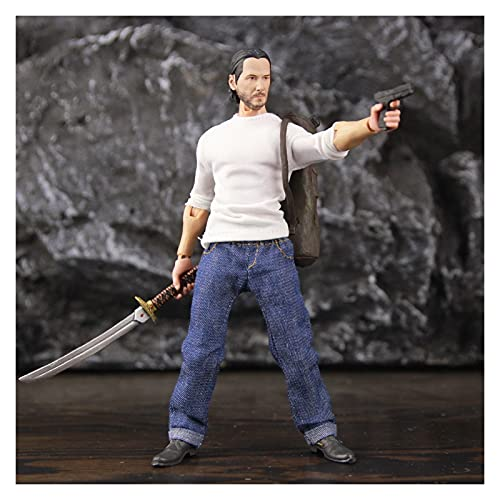 LIANGLMY Figur John Wick 3 Casual 6'Action Figure Professional...