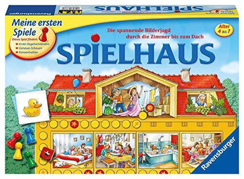 Ravensburger 21424 - Spielhaus - Kinderspielklassiker, spannende...