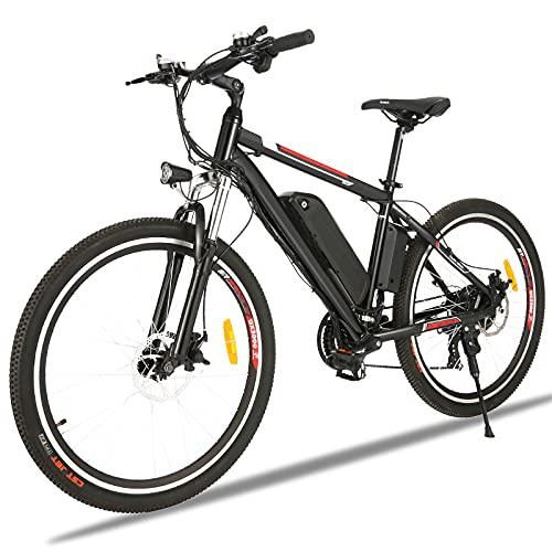 Elektrofahrrad für Herren und Damen 26' Ebike Mountainbike mit...