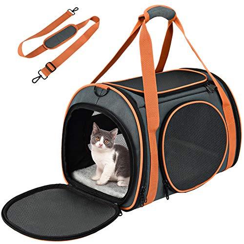 OKMEE Transporttasche Katze, Hund Transporttasche, Faltbare...