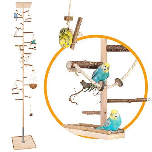 Zimmerhoher Vogel-Kletterbaum 247-249 cm HiFly Medio mit...