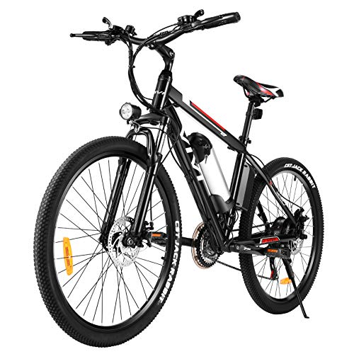 Vivi Ebike Mountainbike, 26 Zoll Elektrofahrrad, 350W...