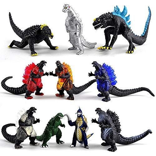 Action Figure Godzilla 10 Dinosaurier Monster Arena Kämpfen Version Spielzeug-Puppe...