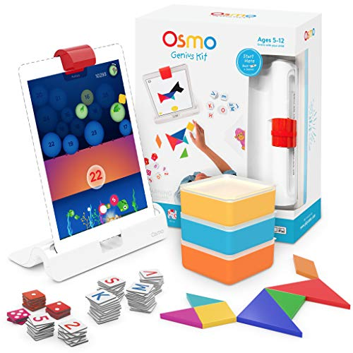 Osmo Genius Kit für iPad, 5 praktische Lernspiele im Alter von 6...