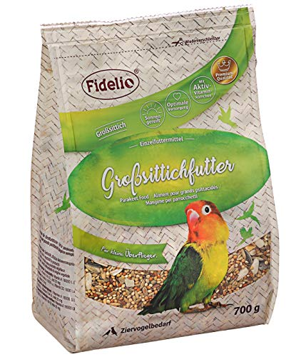 Fidelio Ziervogel-Futter, Großsittichfutter, 700 g
