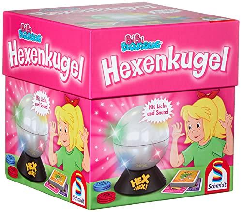 Schmidt Spiele 40458 Bibi Blocksberg Hexenkugel, Kinderspiel