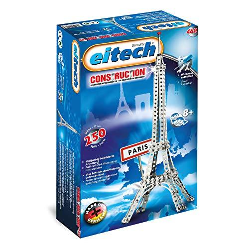 Eitech 00460 00460-Metallbaukasten-Eiffelturm Set, 250-teilig,...