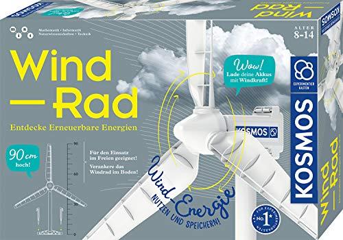 KOSMOS 620592 Wind-Rad Experimentierkasten, Entdecke erneuerbare...