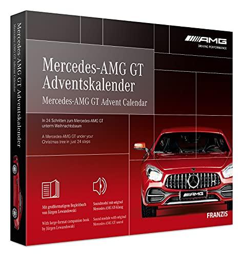 FRANZIS 67103 - Mercedes-AMG GT Adventskalender 2020 – in 24...