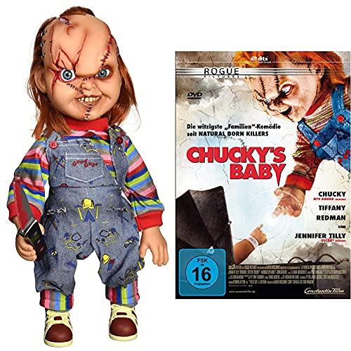 Action Figur Chucky-Child's Play Talking Chucky 38 cm & Chucky's...