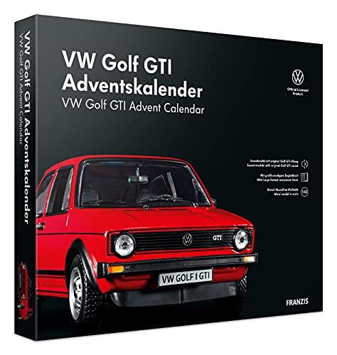 FRANZIS 55102 - VW Golf GTI Adventskalender 2021 rot - in 24...