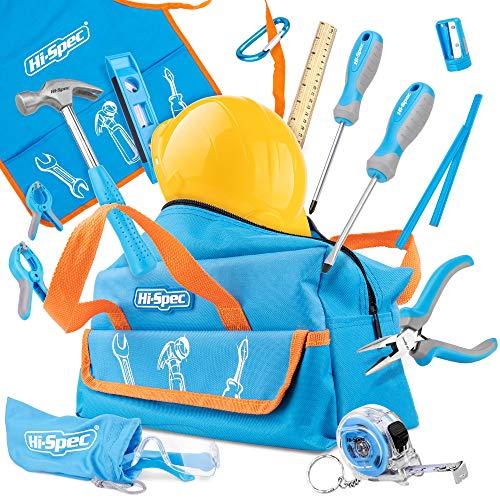 Hi-Spec 18-teiliges Kinder-Werkzeugset mit echten Handwerkzeugen,...