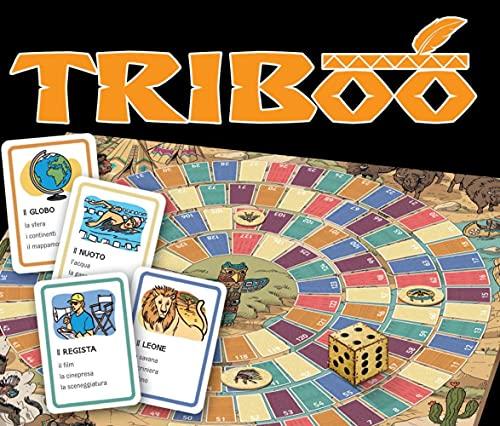 Triboo.Gamebox mit 132 Karten, Spielplan + Download: L'italiano...