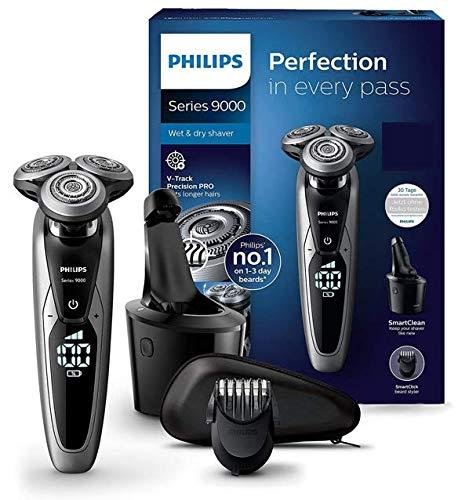 Philips Series 9000 Elektrischer Nass- und Trockenrasierer...