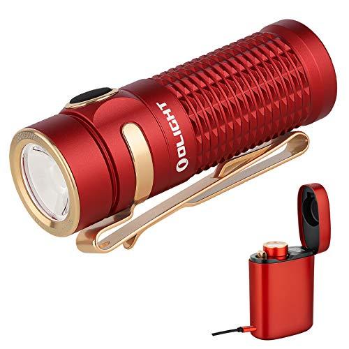 OLIGHT BATON 3 Mini Taschenlampe 1200 Lumen Kaltes Weiß LED...