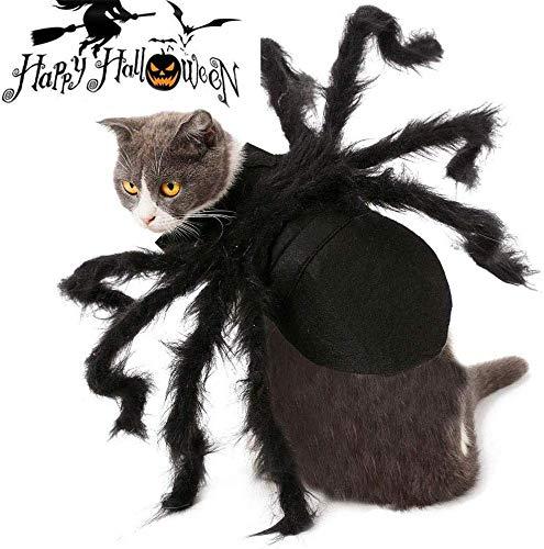 Lesgos Haustier Spinne Kostüm, Halloween Pet Spider Kleidung mit...
