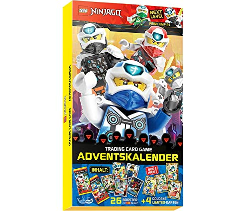 Next Level Lego Ninjago 5 Trading Cards - Adventskalender 2020 -...