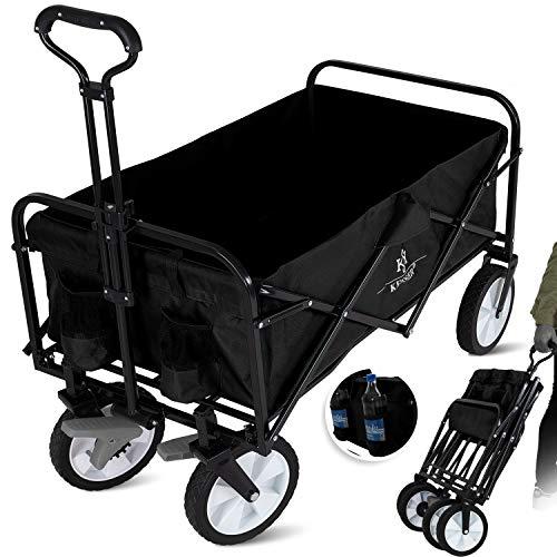 KESSER® Bollerwagen faltbar Handwagen Transportkarre...