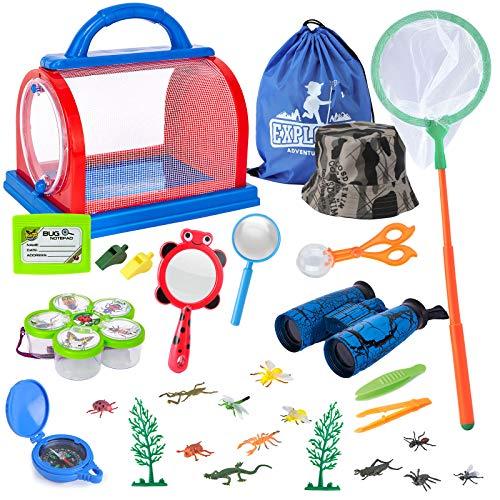 Draussen Forscherset Spielzeug, Bug Catcher Kit 27 Stück mit...