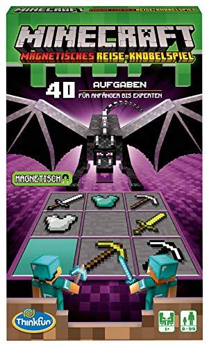 ThinkFun - 76402 - Minecraft - Das magnetische Reisespiel. ideal...